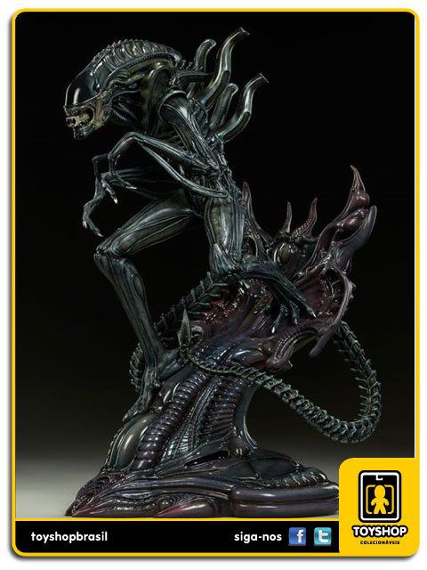 Estátua Alien Warrior - 1/5  Sideshow Collectibles