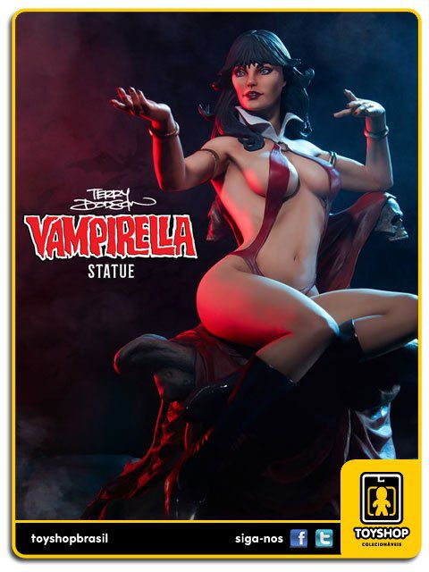 Estátua Vampirela by Terry Dodson - 1/5  Sideshow Collectibles