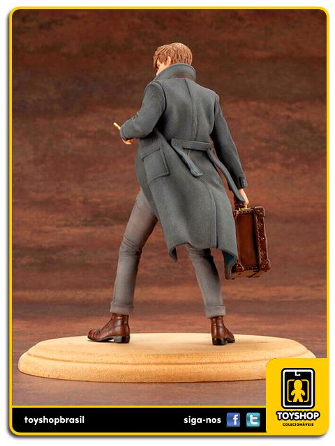 Fantastic Beasts The Crimes of Grindelwald Newt Scamander 1/10 Kotobukiya