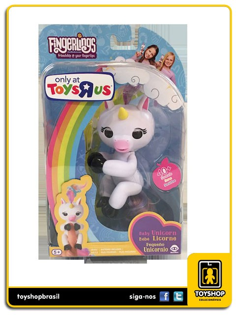 Fingerlings Bebe Unicornio Gigi Interativo Wowwee