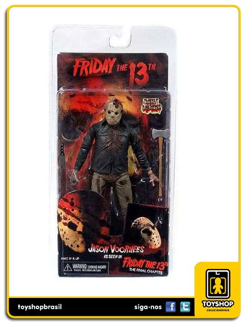 Friday 13th  Jason Voorhees Battle Damaged Neca