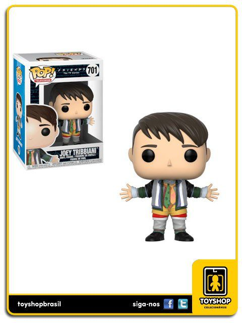 Friends The Tv Series W2 Joey Tribbiani 701 Pop Funko
