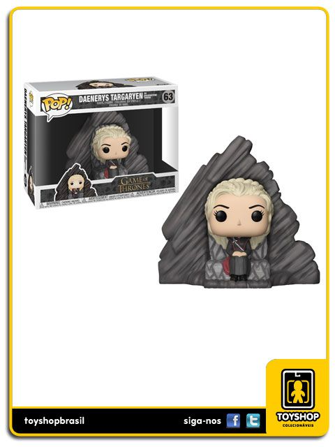 Game of Thrones: Daenerys Targaryen & Trono  63 Pop  Funko