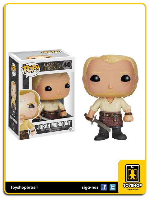 Game of Thrones Jorah Mormont 40 Pop Funko