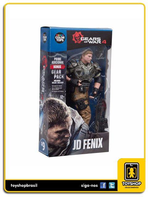 Gears Of War 4 Jd Fenix Color Tops Mcfarlane Toys