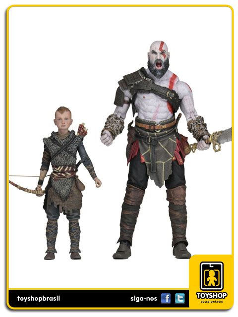 God Of War Kratos & Atreus Ultimate 2 Pack Neca Toys