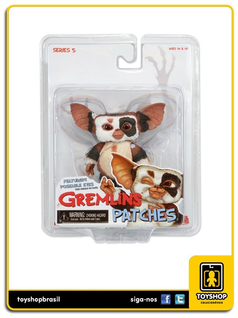 Gremlins Mogwais Patches Neca
