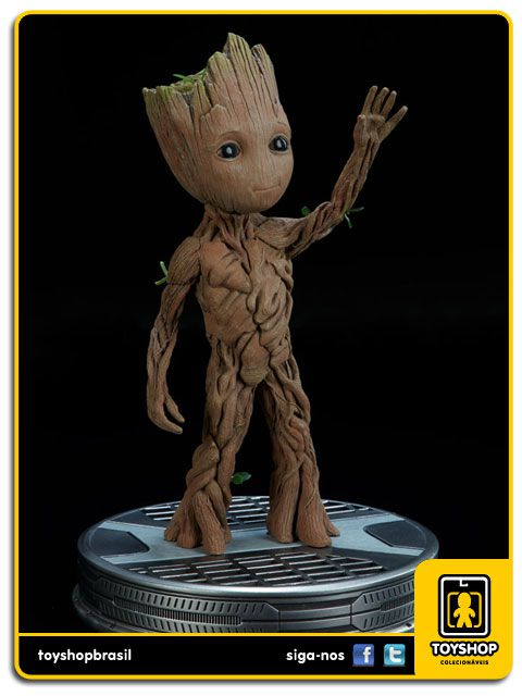 Guardians of the Galaxy 2 Baby Groot Maquette Sideshow Collectibles