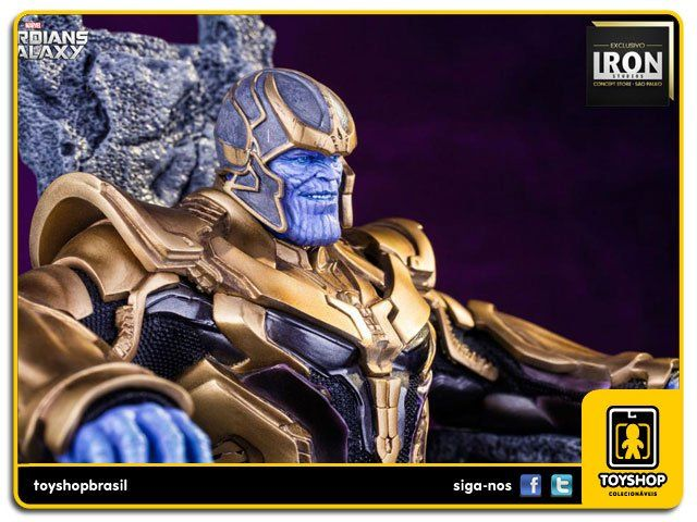 Guardians of the Galaxy: Thanos Exclusivo 1/10 - Iron Studios