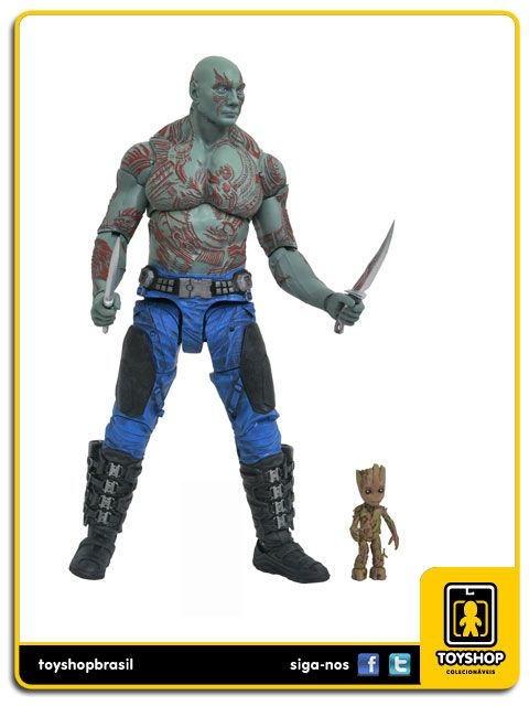 Guardians of the Galaxy Vol 2 Drax & Baby Groot Diamond