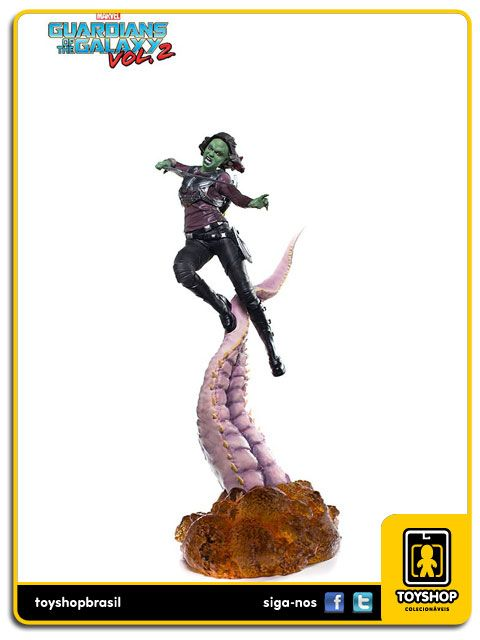 Guardians of the Galaxy Vol 2 Gamora  1/10 - Iron Studios