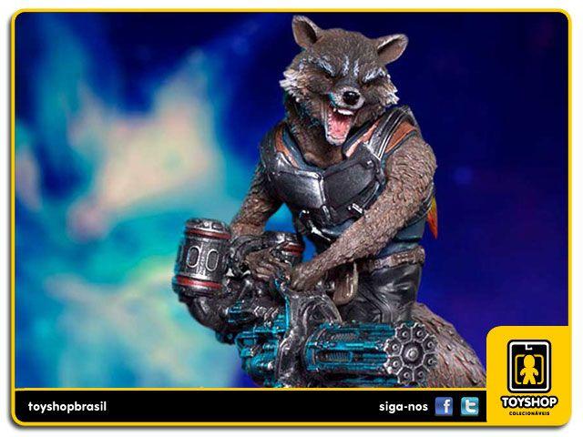 Guardians of the Galaxy Vol 2 Rocket & Groot  1/10 - Iron Studios