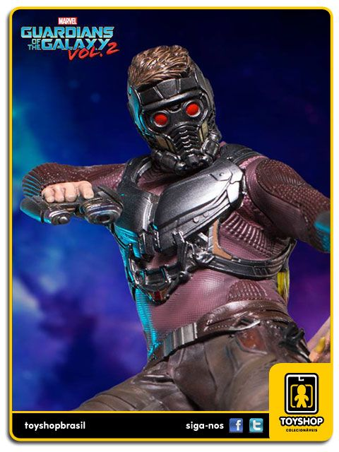 Guardians of the Galaxy Vol 2 Star Lord 1/10 - Iron Studios