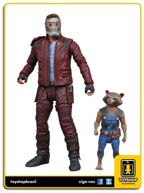 Guardians of the Galaxy Vol 2 Star lord & Rocket  Diamond