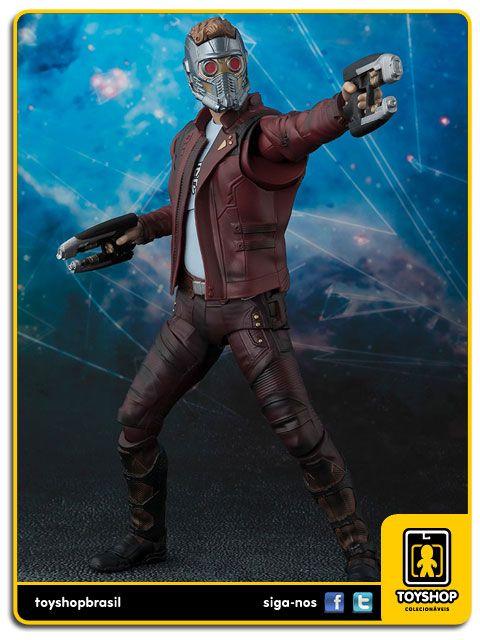 Guardiões Da Galáxia Vol.2 S H Figuarts Star lord Bandai