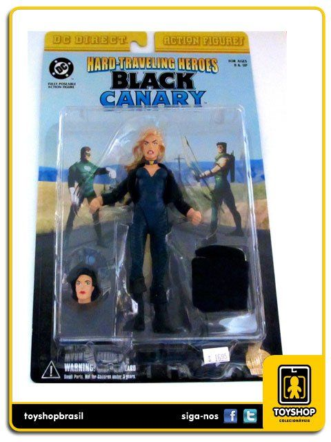 Hard Traveling Heroes Black Canary Dc Direct
