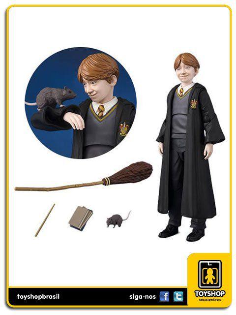 Harry Potter e a pedra do feiticeiro S.H. Figuarts Ron Weasley  Bandai