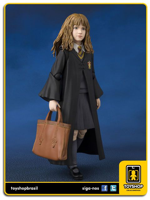 Harry Potter e a Pedra Filosofal S.H. Figuarts Hermione Granger Bandai