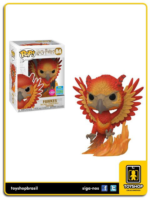 Harry Potter Fawkes Sdcc 2019 84 Pop Funko