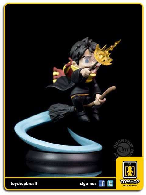 Harry Potter Quantum Mechanix - Harry Potter First Flight - Q-Fig Qmx