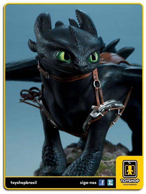 How to Train yout Dragon Toothless Sideshow Collectibles