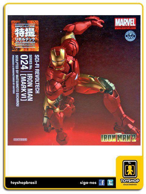 Iron Man 2 Iron Man Mark Vi Revoltech 024 Kaiyodo