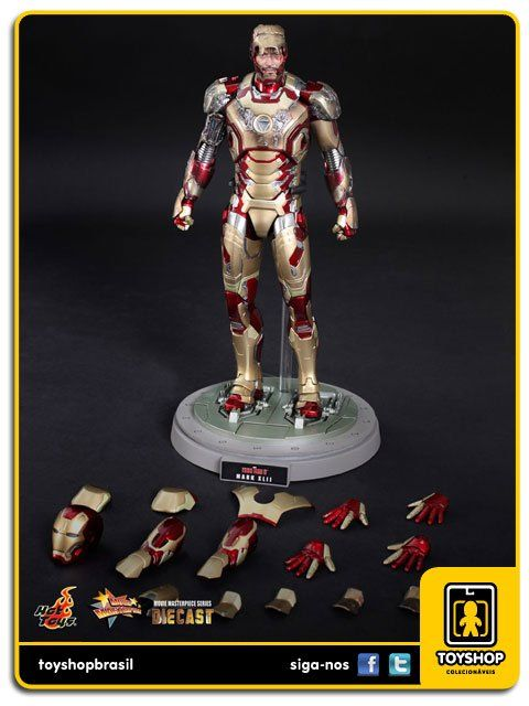 Iron Man 3: Iron Man Mark XLII Diecast 1/6 - Hot Toys