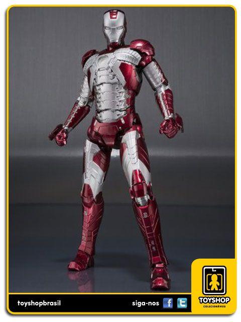 Iron Man II S.H. Figuarts Iron Man Mark V and Hall of Armor  Bandai
