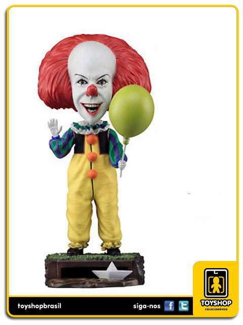 IT Classic Pennywise Head Knocker  Neca