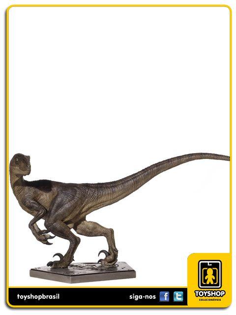 Jurassic Park Estátua Velociraptor Art Scale 1/10 Iron Studios