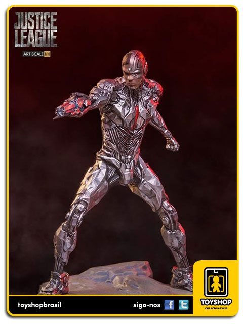 Justice League Cyborg Art Scale 1/10 - Iron Studios