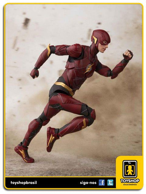 Justice League S H Figuarts Flash Bandai