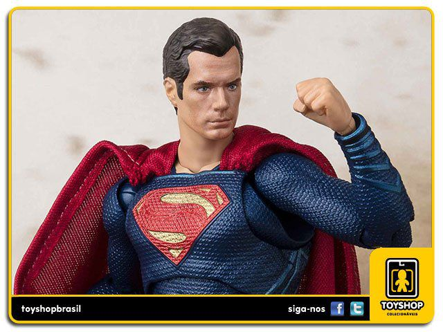 Justice League S H Figuarts Superman Bandai