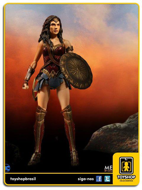 Justice League Wonder Woman One 12 Mezco Toys