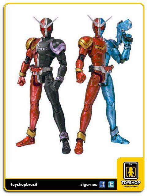 Kamen Rider Double S.H. Figuarts: Heat Joker & Heat Trigger - Bandai