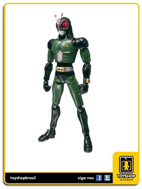 Kamen Rider S.H. Figuarts: Masked Rider Black Rx - Bandai