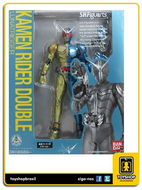 Kamen Rider S.H. Figuarts: Double Luna Trigger - Bandai