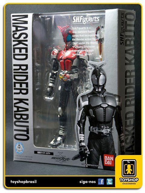 Kamen Rider S.H. Figuarts: Masked Rider Kabuto - Bandai