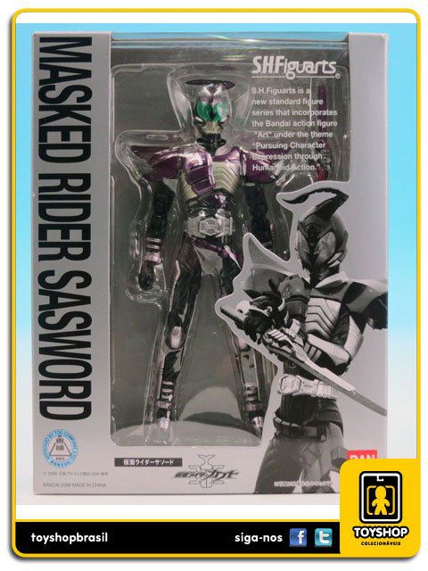 Kamen Rider S.H. Figuarts: Masked Rider Sasword - Bandai