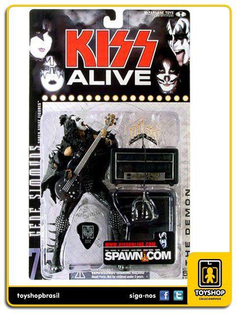 Kiss Alive Gene Simmons Mcfarlane