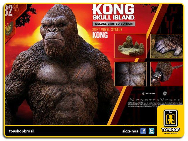 Kong Skull Island King Kong Deluxe Statue 1/6 - Star Ace
