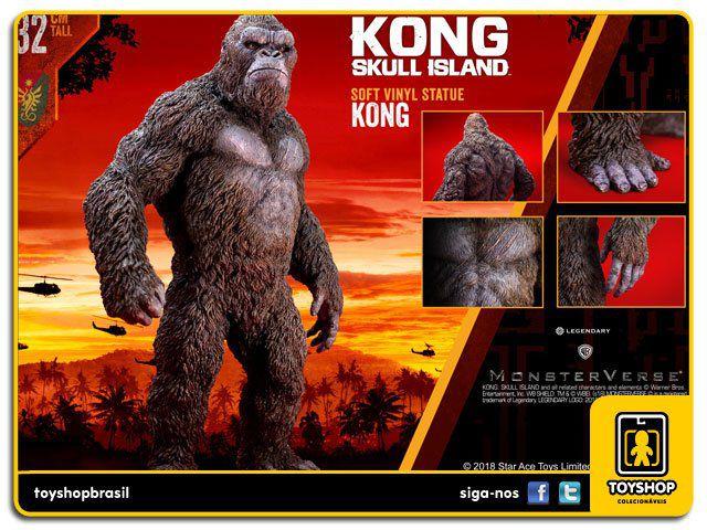 Kong Skull Island King Kong Statue 1/6 - Star Ace