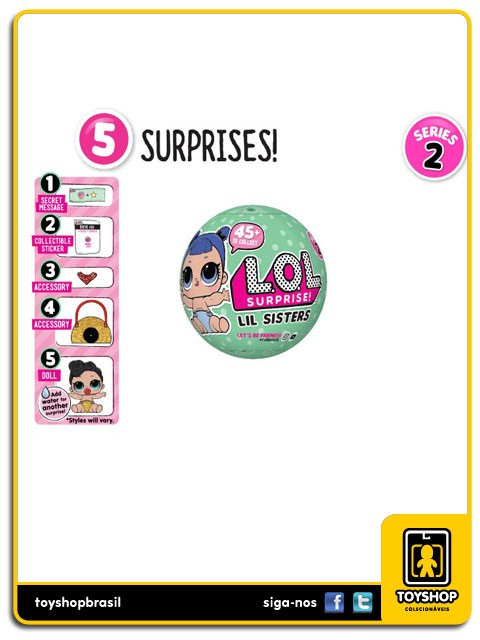 Lol Surprise Lil Sisters Series 2 Mga Entertainment