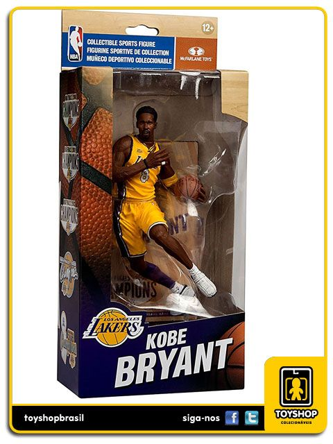 Los Angeles Lakers Campeonato 2000 Kobe Bryant Mcfarlane