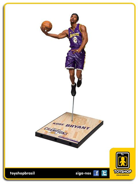 Los Angeles Lakers Campeonato 2001 Kobe Bryant Mcfarlane