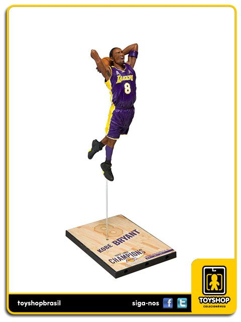 Los Angeles Lakers Campeonato 2002 Kobe Bryant Mcfarlane