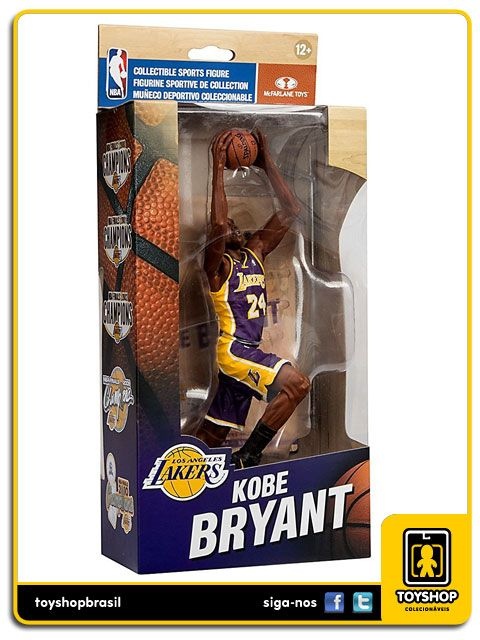 Los Angeles Lakers Campeonato 2009 Kobe Bryant Mcfarlane