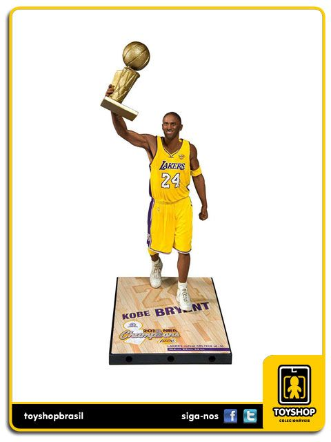 Los Angeles Lakers Campeonato 2010 Kobe Bryant Mcfarlane