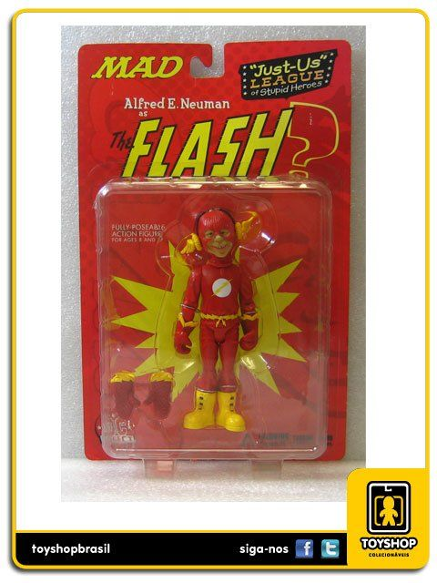 Mad Alfred E.neuman As The Flash Dc Direct