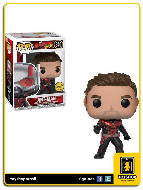 Marvel Ant Man & Wasp Ant Man  Chase 340 Pop Funko